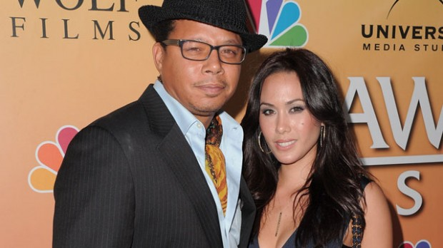 Terrence Howard With His Second Wife Michelle Ghent