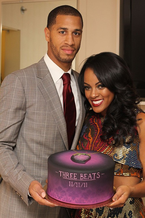 Jannero Pargo with His Wife Malaysia