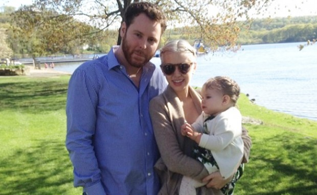 Sean with his wife Alexandra Parker and daughter Winter Victoria,