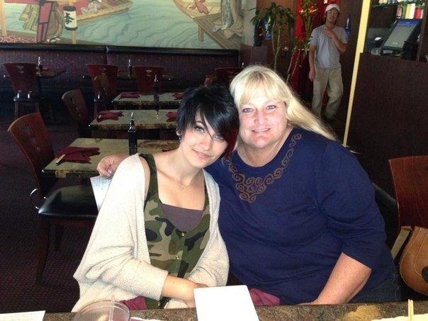 Paris jackson and her mother debbie rowe