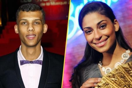 Stromae and his Ex Girlfriend Tatiana Silva