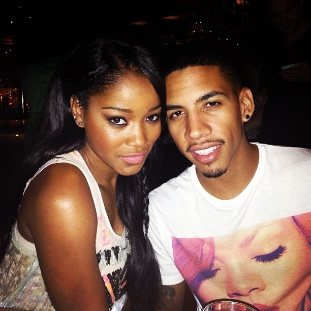 Keke Palmer with His Boyfriend Rodney
