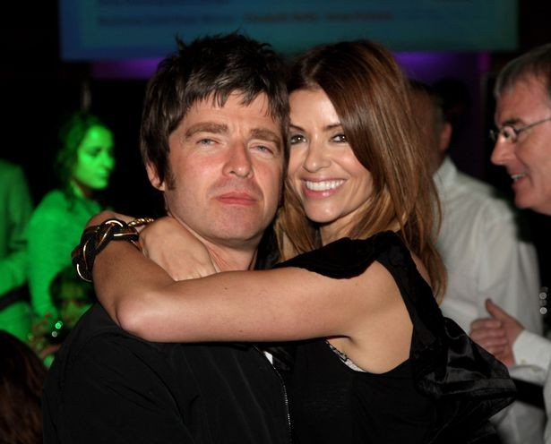 Noel Gallagher With his Present Wife Sara MacDonald