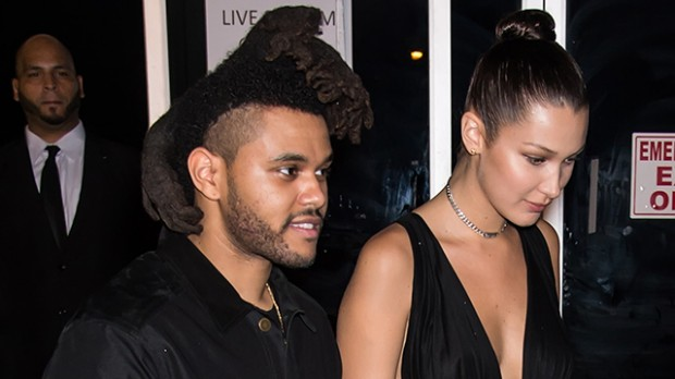 Bella Hadid With His Partner The Weeknd