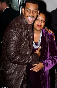 Richard Blackwood with her mother Juliet Blackwood