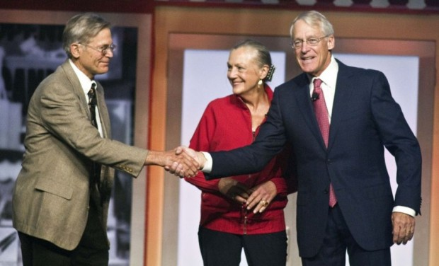 Robson Walton with brother Alice Walton and Siter Jim Walton