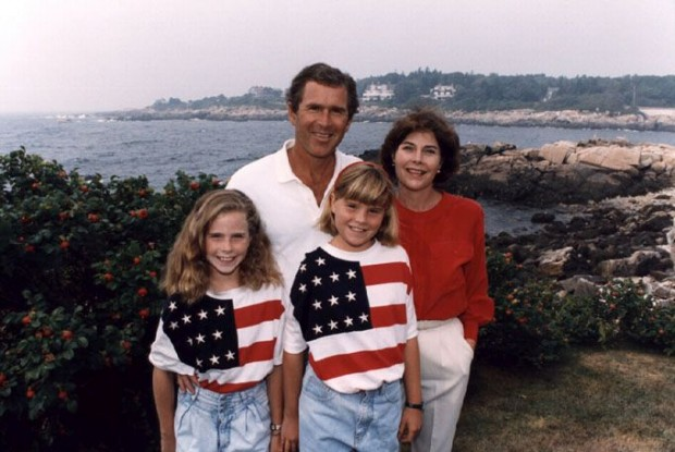George W. Bush family