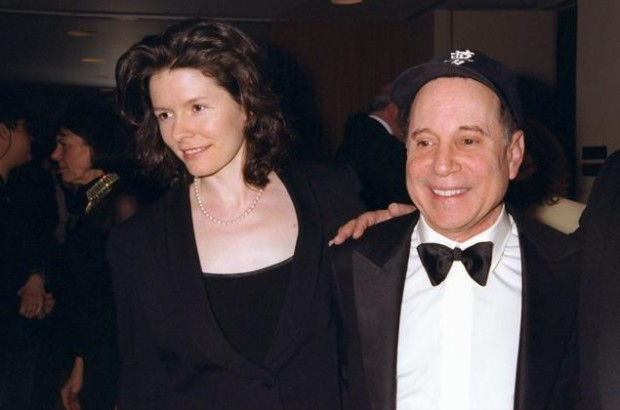 Paul Simon And His Wife Edie Brickell