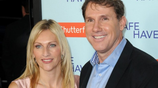 Nicholas Charles Sparks With His Wife Cathy Separate