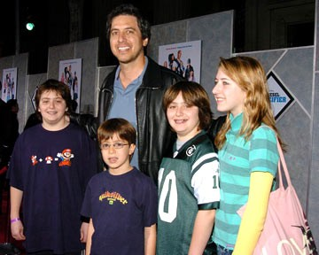 Ray Romano With His Kids