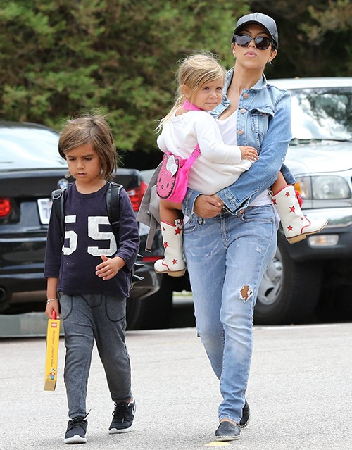 Kourtney Kardashian Went To Lunch With Son
