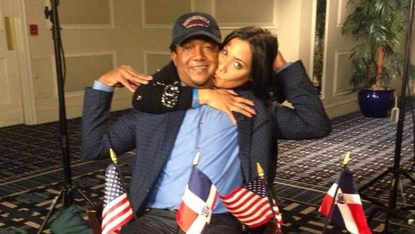 Pedro Martinez and his Spouse Carolina Cruz Martinez