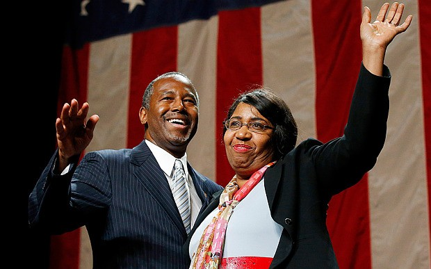 Ben Carson with His Wife Candy Carson