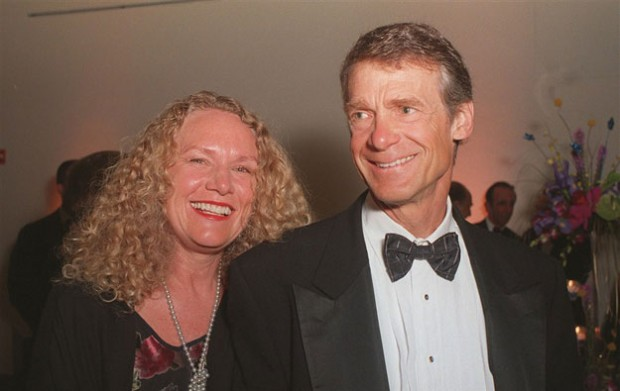 Christy Ruth Walton With Her Husband