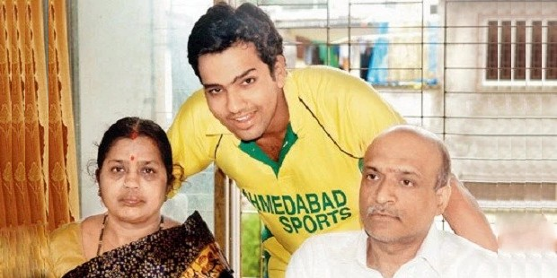 Rohit Sharma Parents