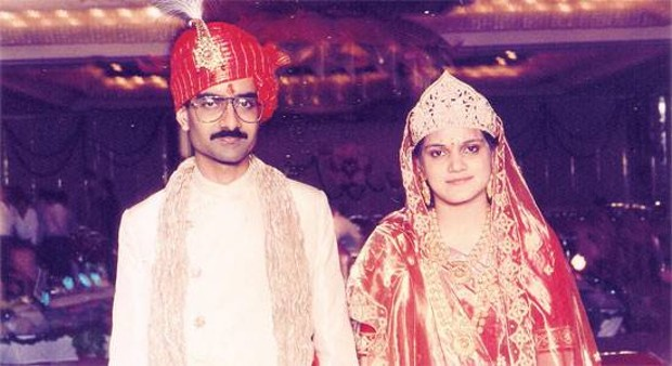 Kumar Mangalam Birla Marriage Photos