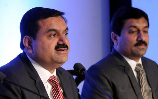 Gautam Adani with his Brother Rajesh Adani