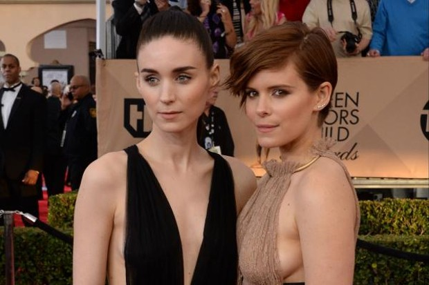 Rooney Mara With Her Sister Kate Mara