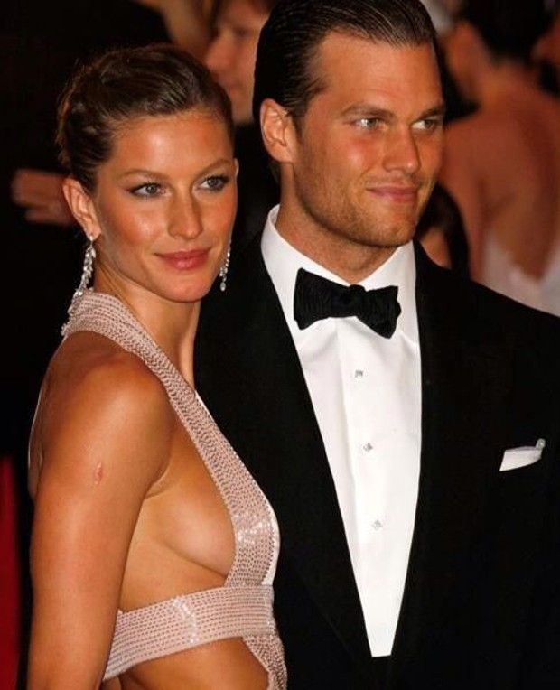 Tom Brady and His Wife Gisele Buncheon
