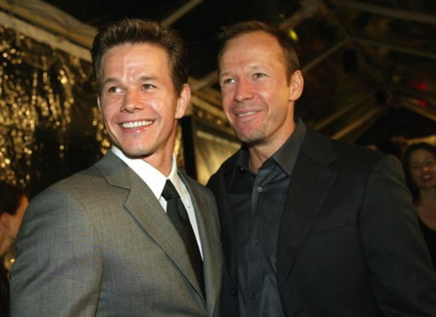 Mark Wahlberg With His Brother Donnie Wahlberg