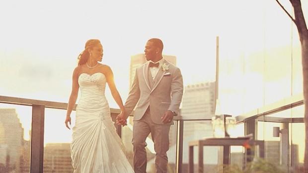 Ray Rice Wedding Photo