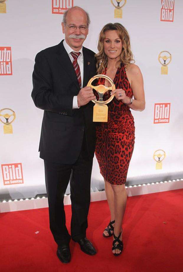 Dieter Zetsche With His Wife
