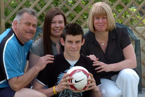 Gareth Frank Bale With Father, Mother
