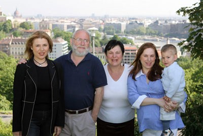 Judit Polgar Family