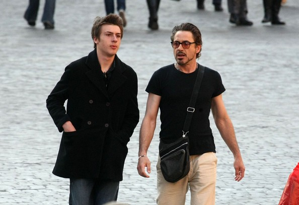 Robert John Downey, Jr. Son
