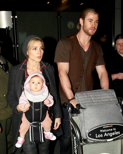 Chris Hemsworth Family