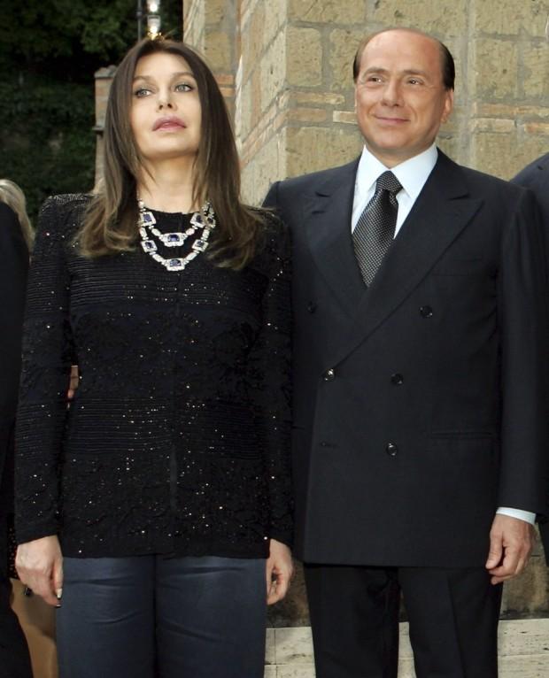 Silvio Berlusconi Spouse