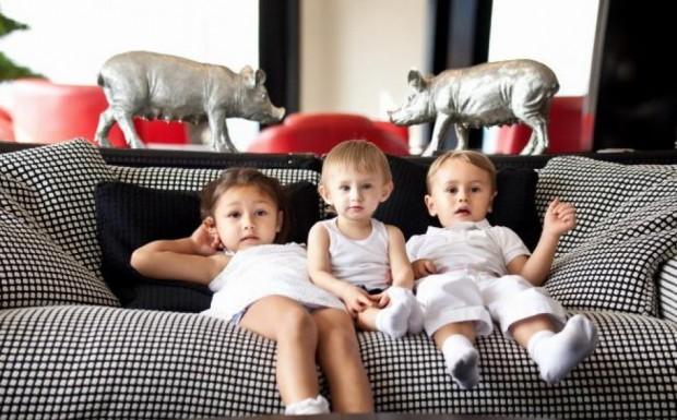 Kim Dotcom Children