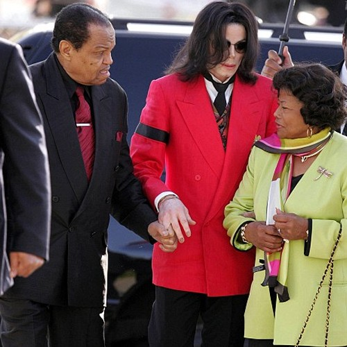 Jackson With Mother and Father