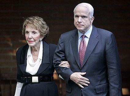 John McCain with his Wife Carol McCain(1965-1980)