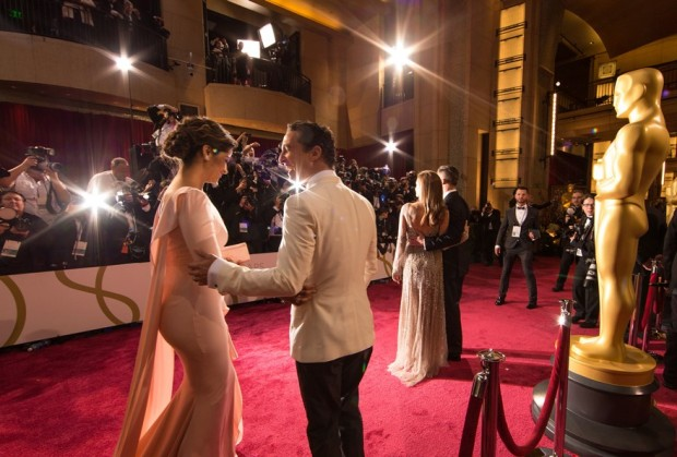 Matthew McConaughey and Wife Camila Alves at the 86th Annual Academy Awards