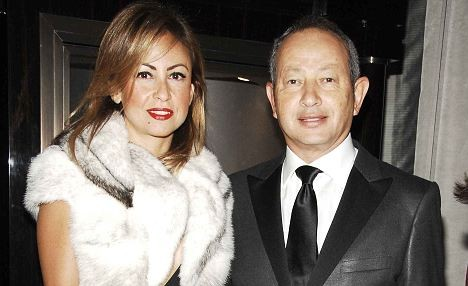 Onsi Sawiris Son and Daughter in Law