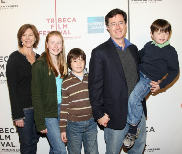 Stephen Colbert Family