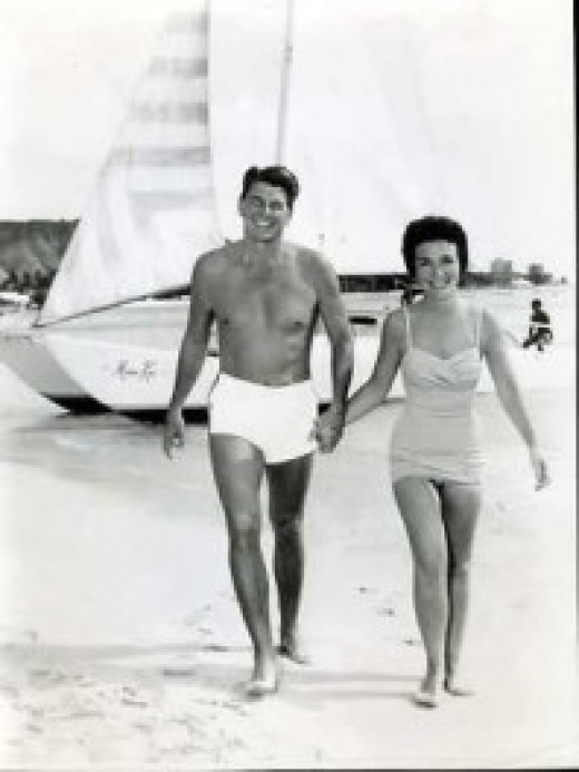 Ronald And His Wife Nancy Reagan