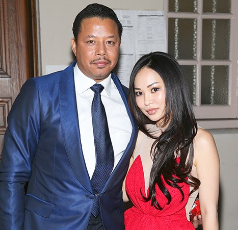Terrence Howard with Present Wife Mira Pak