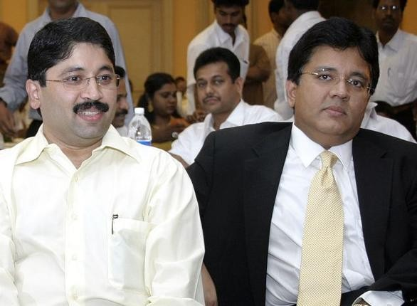 Kalanithi Maran With Brother Dayanidhi Maran