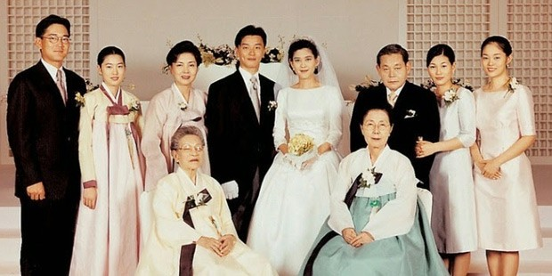 Lee Jae-yong Family