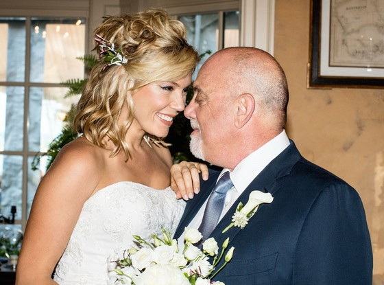 Billy Joel With His Present Wife Alexis Roderick