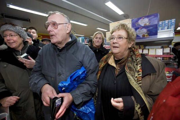Ingvar Kamprad With His Wife