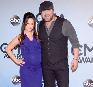 Lee Brice And Sara In CMA Awards