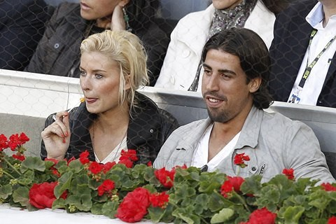 Sami Khedira And  Lena Gercke