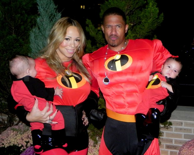 Mariah Carey and Nick Cannon Took Their Twins