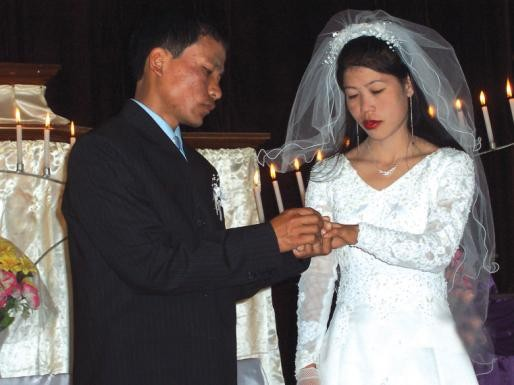 Mary Kom Marriage Photo