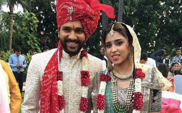 Rohit Sharma Marriage Photo