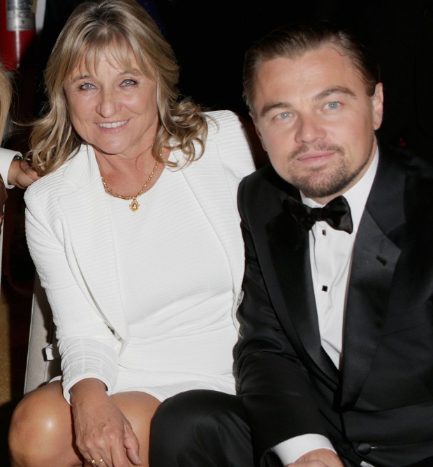 Leonardo DiCaprio Mother Irmelin Indenbirken