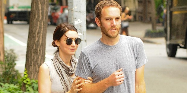 Rooney Mara With Her Boyfriend Charles McDowell